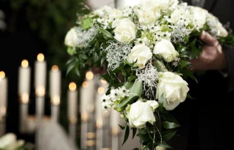 Bestattung in Trauerhalle